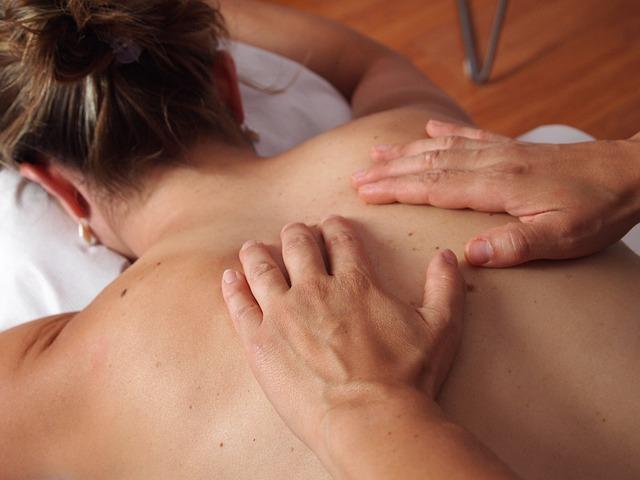 ruční masáž