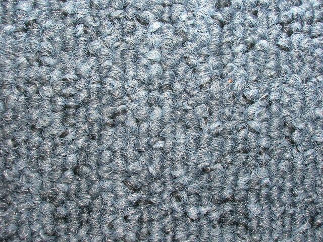 detail kobercových vláken