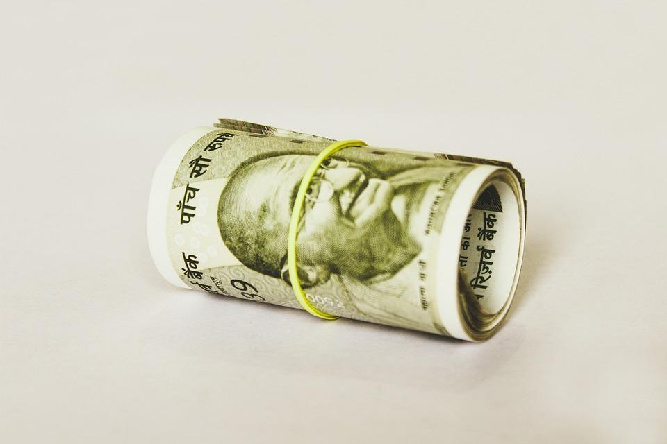 rolička peněz